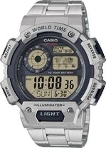 Hodinky CASIO AE 1400WHD-1A WORLD TIME