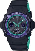 CASIO AWG-M100SBL-1AER G-Shock Wave Ceptor, Tough Solar