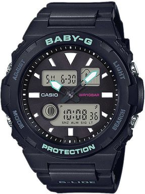 Hodinky CASIO BAX-100-1AER Baby-G, G-LIDE