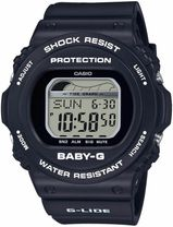 Hodinky CASIO BLX-570-1ER Baby-G TIDE GRAF