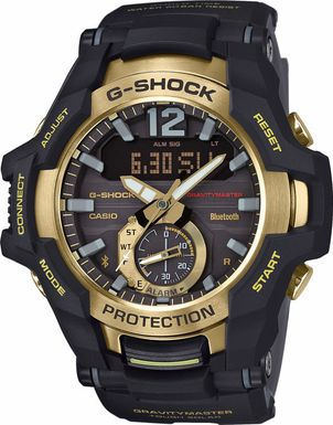 Hodinky CASIO GR B100GB-1A G-Shock GRAVITYMASTER Bluetooth®
