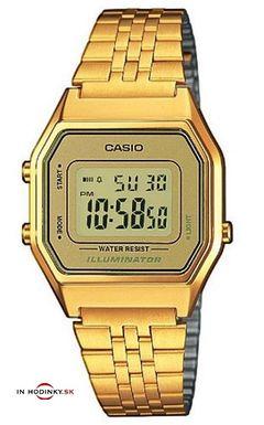 Dámske hodinky CASIO LA 680GA-9 Collection