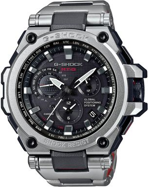 Hodinky CASIO MTG G1000RS-1A G-Shock GPS HYBRID WAVE CEPTOR MT-G