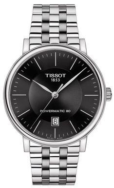 Hodinky TISSOT T122.407.11.051.00 CARSON POWERMATIC 80