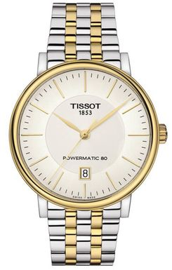 Hodinky TISSOT T122.407.22.031.00 CARSON POWERMATIC 80