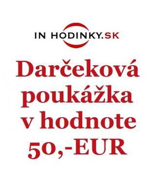 INHODINKY Darčeková poukážka v hodnote 50,- EUR