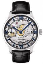 Mechanické hodinky TISSOT T099.405.16.418.00 CHEMIN DES TOURELLES SQUELETTE + darček na výber