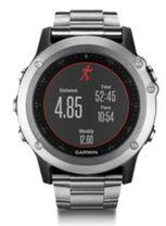 Multifunkčné hodinky GARMIN 010-01338-79 fénix 3, HR Silver - Titanium