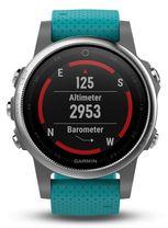 Multifunkčné hodinky GARMIN 010-01685-01 Fénix 5S Silver
