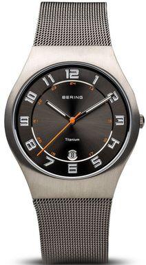 Pánske hodinky BERING 11937-007 Titanium