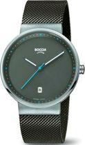 Pánske hodinky BOCCIA 3615-01 Titanium
