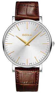 Pánske hodinky DOXA 173.10.021Y.02 D-Light + darček na výber