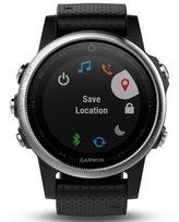 Pánske hodinky GARMIN 010-01685-02 Fénix 5S Silver