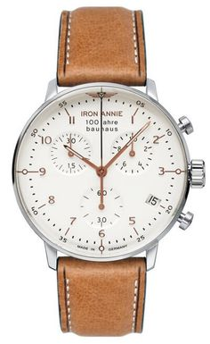 Pánske hodinky JUNKERS 5096-4 IRON ANNIE BAUHAUS