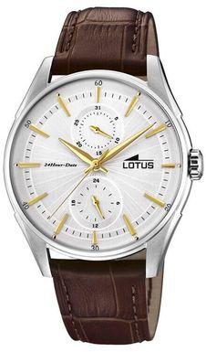 Pánske hodinky LOTUS L18523/1 Retro + darček