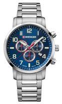 Pánske hodinky WENGER 01.1543.101 Attitude Chrono + darček