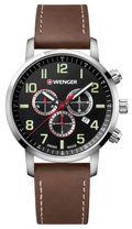 Pánske hodinky WENGER 01.1543.103 Attitude Chrono + darček