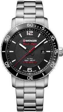 Pánske hodinky WENGER 01.1841.104 Roadster Black Night