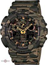 Pánske športové hodinky CASIO GA 100CM-5A G-Shock Camouflage Series + Darček na výber
