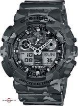 Pánske športové hodinky CASIO GA 100CM-8A G-Shock Camouflage Series + Darček na výber