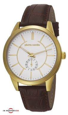 Pánske zlatené hodinky Pierre Cardin PC106571F03 Troca