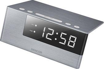 SDC 4600 WH hodiny s budíkom SENCOR
