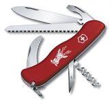 VICTORINOX 0.8573 lockblade knife HUNTER, red