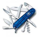 VICTORINOX 1.3713.T2 Swiss Army knife HUNTSMAN, blue translucent
