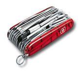 VICTORINOX 1.6795.XLT Swiss Army knife SWISS CHAMP XLT, red tran