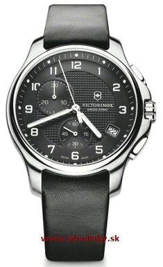 Pánske hodinky VICTORINOX 241552 Officier`s Chronograf + darček na výber