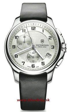 Pánske hodinky VICTORINOX 241553 Officier`s Chronograf + darček na výber