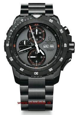 Pánske hodinky VICTORINOX Swiss 241573 Army Alpnach Mechanical Chronograph + darček na výber