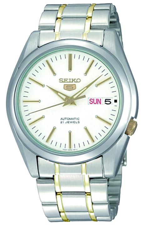 Pánske športovo-elegantné hodinky SEIKO SNKL47K1 Automatic + darček na výber