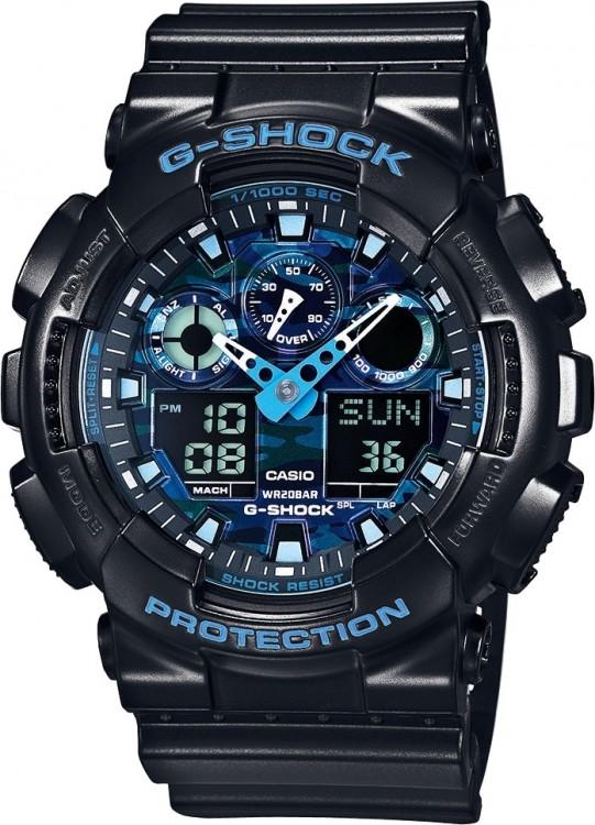 d0ad2805c CASIO. Športové hodinky CASIO GA 100CB-1A ...