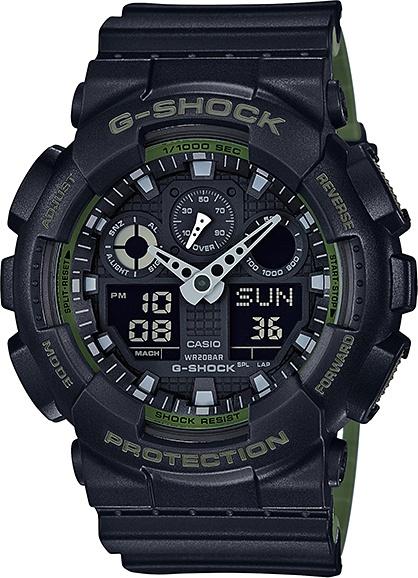 Športové hodinky CASIO GA 100L-1A 9fe1f4ab6c