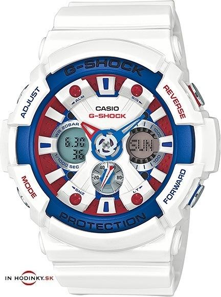 CASIO. Športové hodinky CASIO GA 201TR-7A G-Shock Tri-color zväčšiť obrázok 83ce1897695