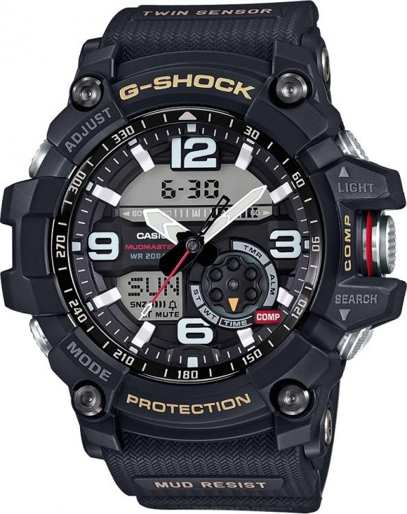 Športové hodinky CASIO GG 1000-1A G-Shock Twin Sensor d4e41cc654d