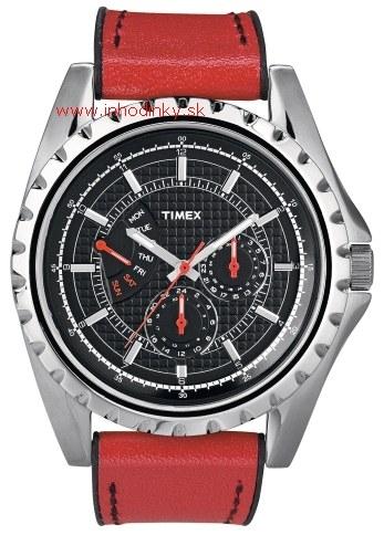 Pánske hodinky TIMEX T2N109 Men's Retrograde + darček