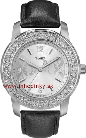 Dámske hodinky TIMEX T2N150 SL Series with Crystals
