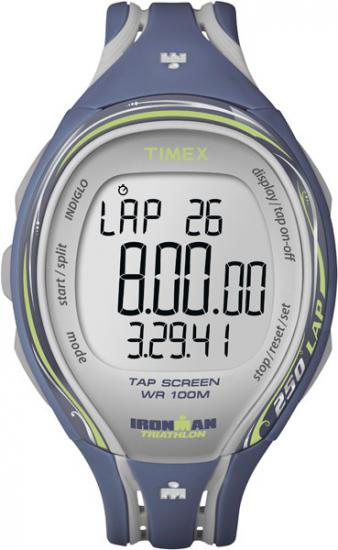 Dámske hodinky TIMEX T5K592 Ironman Sleek 250-Lap TAP + kompas