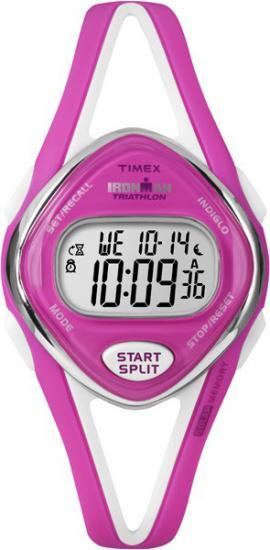 Dámske hodinky TIMEX T5K655 Ironman Sleek 50-Lap + kompas
