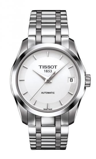 TISSOT T035.207.11.011.00 COUTURIER AUTOMATIC LADY