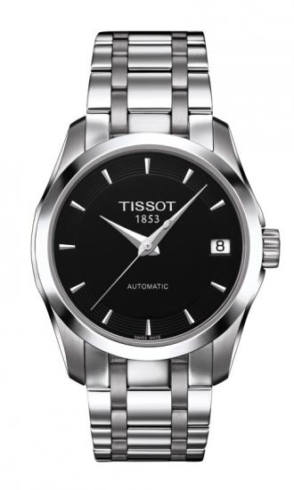 TISSOT T035.207.11.051.00 COUTURIER AUTOMATIC LADY