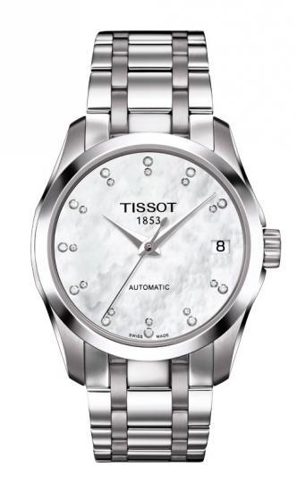 TISSOT T035.207.11.116.00 COUTURIER Diamonds AUTOMATIC LADY