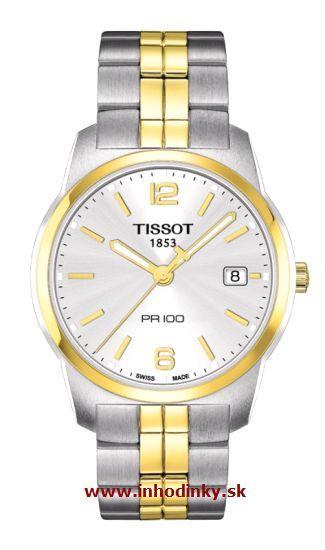 TISSOT PR 100 QUARTZ GENT STEEL T049.410.22.037.01 + Darček