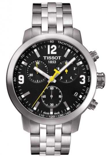Pánske hodinky TISSOT T055.417.11.057.00 PRC 200 QUARTZ CHRONO + Darček na výber