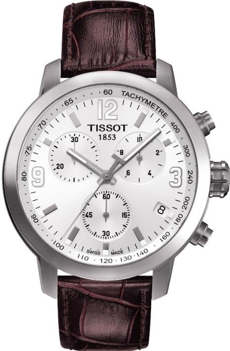 Pánske hodinky TISSOT PRC 200 T055.417.16.017.01 QUARTZ CHRONO + Darček na výber