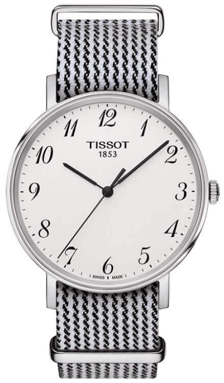 Unisexové hodinky TISSOT T109.410.18.032.00 Everytime Gent + darček na  výber zväčšiť obrázok 9a6125d1a38
