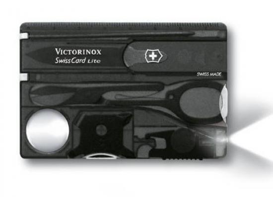 Victorinox 0 7333 T3 Swisscard Lite Black Translucent