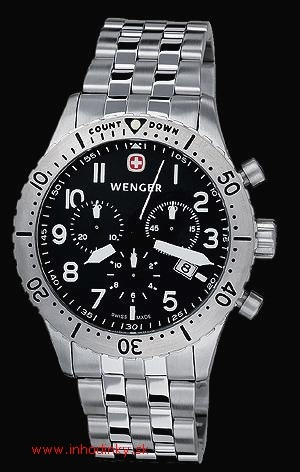 WENGER 77009-AeroGraph Countdown Chrono